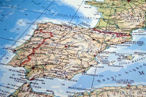 Carte Portugal Espagne by Carte Portugal Espagne Mes Prochains Voyages