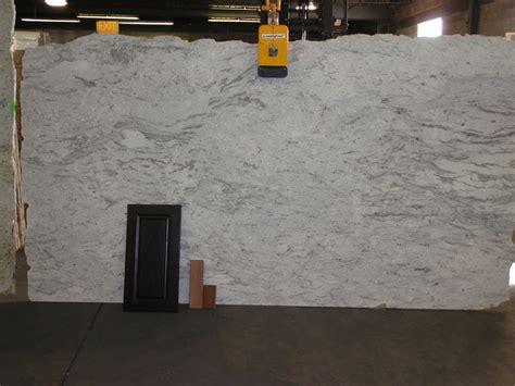 does anyone river white or monte bello granite pics