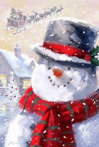 Snowman 1 Fine Art Print by The Macneil Studio at