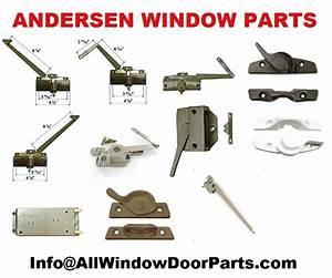 Andersen  Anderson  Window And Patio Door Parts
