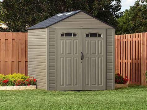 rubbermaid shed 7x7 assembly rubbermaid roughneck x large storage shed review outdoor
