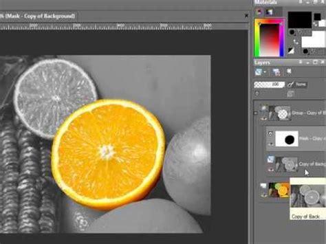paint shop pro tutorial color black white
