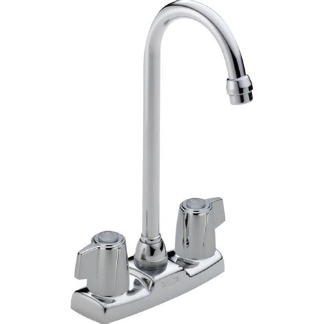 delta lakeview bar faucet delta classic 2 handle bar faucet in chrome 2171lf the