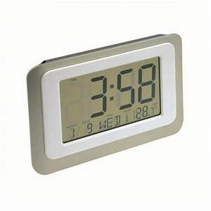 Digital Lcd Clock 12  24 Hour Count Down Timer Thermometer
