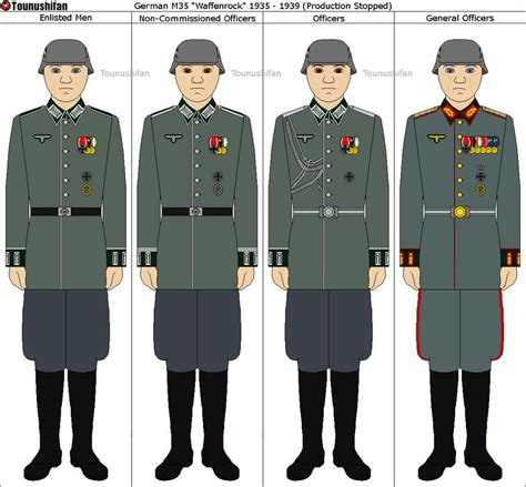 wehrmacht heer waffenrocks type i by tounushifan on deviantart world war two german