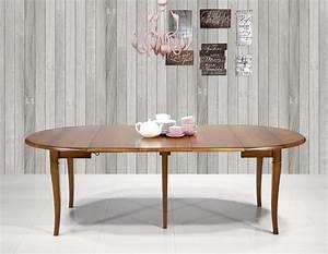 Table Bois Avec Rallonge : table avec rallonges en bois massif ~ Teatrodelosmanantiales.com Idées de Décoration