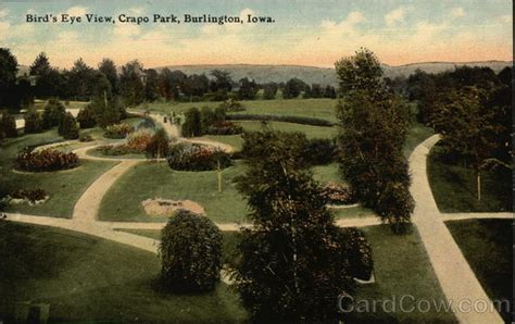 birds eye view crapo park burlington ia
