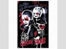 Poster Escuadron Joker & Harley Quinn Nosoloposterscom