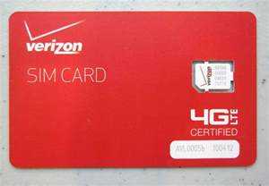 verizon sim card iphone 5 verizon wireless nano 4g lte sim card 4ff iphone 5 5s 6 6