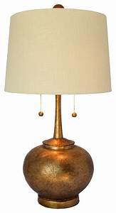 hammered table lamp antique gold transitional table With hammered gold floor lamp