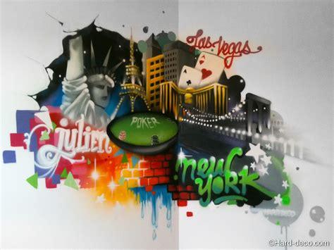 Tag Chambre Ado - déco graffiti las vegas york