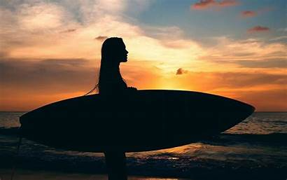 Surf Nike Wallpapers Surfing Cave Sunset Iphone