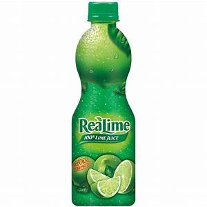 REALIME ReaLime Lime Juice, 8 fl oz (236 ml) - Food ...