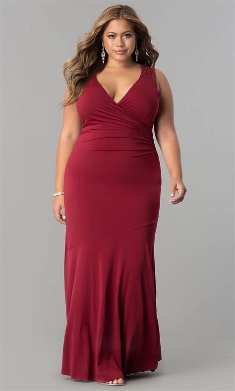 long ruched  size formal evening dress promgirl