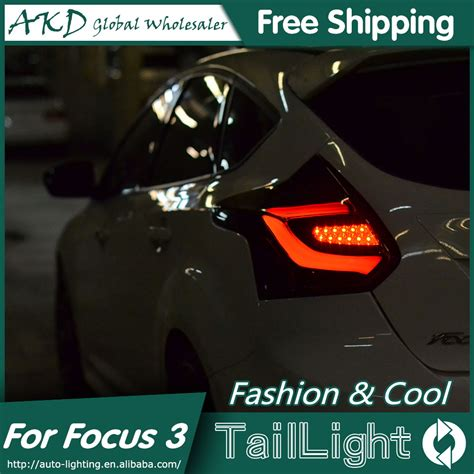 akd car styling led tail l for ford focus tail lights