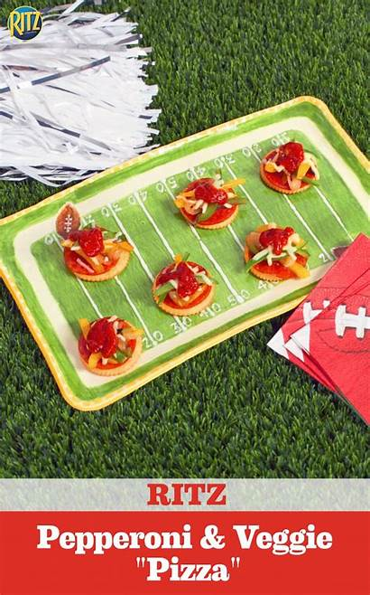 Recipe Ritz Pepperoni Appetizers Pizza Crackers Coors