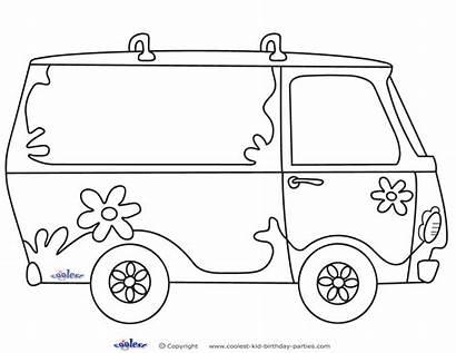Mystery Van Printable Scooby Doo Decoration Printables