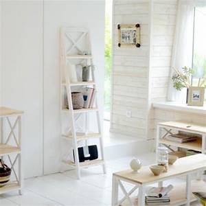 Ikea Bibliothèque Blanche : etagere bibliotheque salon en pin blanc ~ Teatrodelosmanantiales.com Idées de Décoration