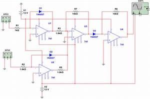 Pcb Design For Analog Multiplier Using 741