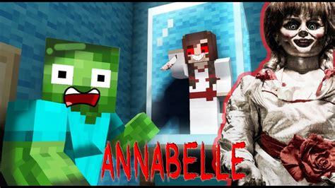 monster school annabelle  home horror challenge minecraft animation youtube