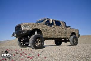 Lifted Dodge Cummins Diesel Camo Trucks