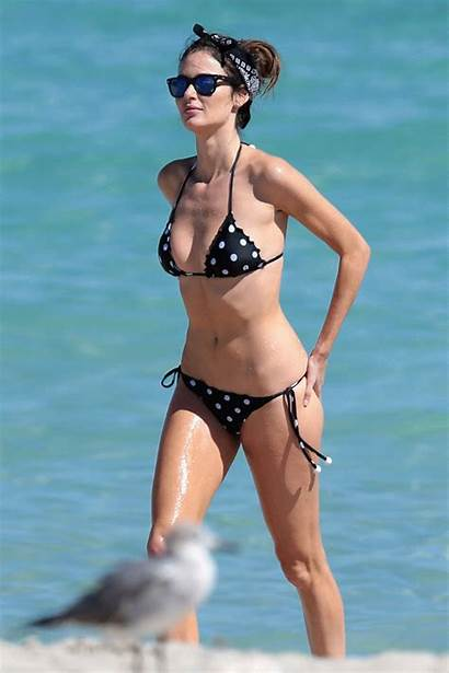 Nicole Trunfio Bikini Dot Polka Miami Paradise