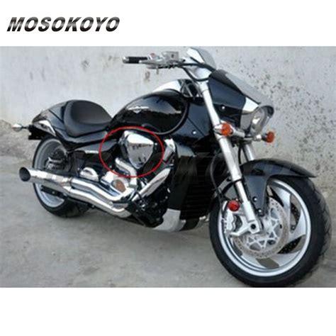 Suzuki M109r Parts by 2 X Motorcycle Chrome Air Filter Cover For Suzuki