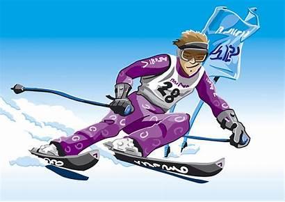 Slalom Skier Sport Winter Ramspott Frank Giant