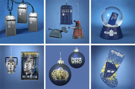 Dalek Christmas Tree Ornament by Doctor Who 80mm Glass Ball Ornament Merchandise Guide