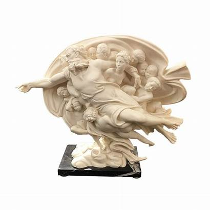 Santini Italy Sculpture Marble Stand Sold