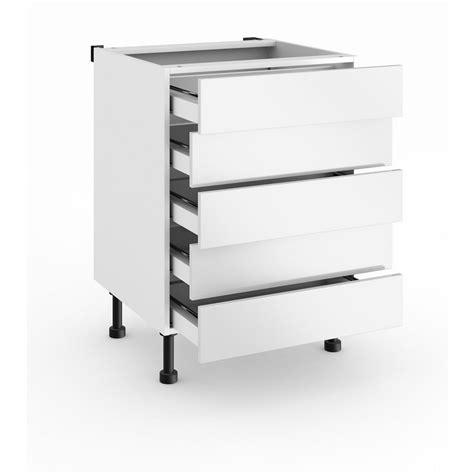 meuble cuisine tiroir meuble de cuisine bas avec 5 tiroirs cuisine