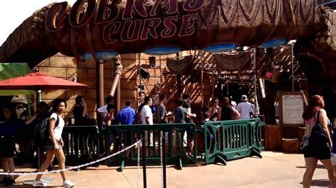 Busch Gardens Wait Times by Cobra S Curse Busch Gardens Ta Wait Times 18 Jun 2016