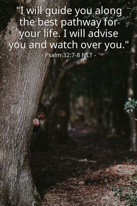 god    hiding place psalm   nlt