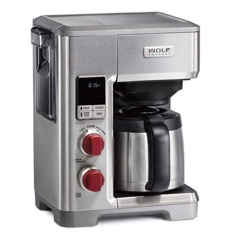 Little wolf coffee roasters is a specialty coffee roaster based out of ipswich, ma dedicated to helping you fall in love with coffee all over again. Wolf Gourmet 10-Cup Automatic Drip Coffeemaker   J.L. Hufford