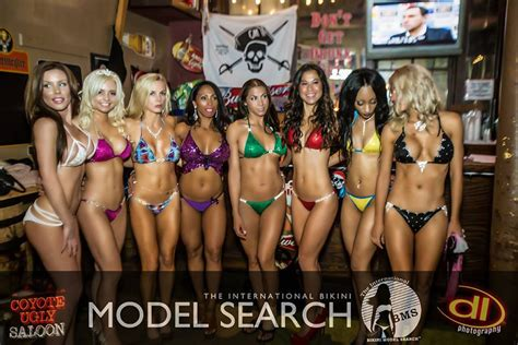 international bikini model search coyote ugly saloon