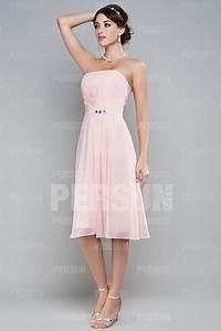 robe plissee longueur genoux bustier ceinturee jmrougefr With robe longueur sous genoux