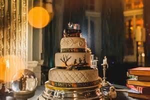 harry potter wedding cake magical harry potter themed wedding