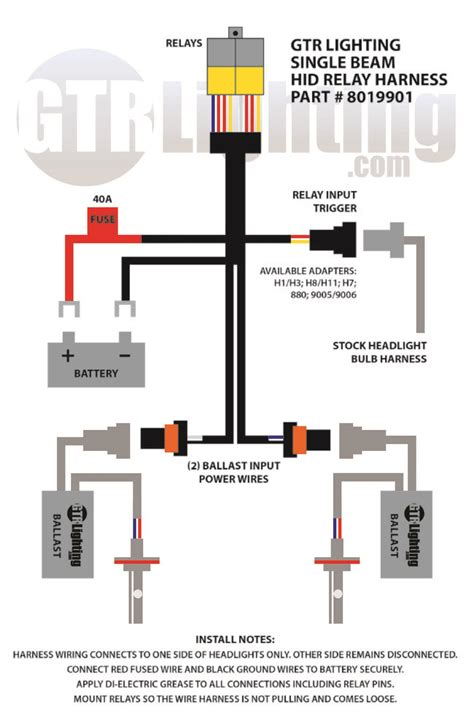 Bikemaster H4 Hid Kit Wiring Diagram by Easy Headlight Mod Page 10 Ford F150 Forum Community