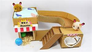 How To Make Sweet House For Hamster