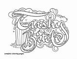 Coloring Sharpie Printable Adult Garage Sheets Bitch Critical Worksheets Thinking Word Colouring Adults Curse Kindergarten Games Getcolorings Trashy Swear Witch sketch template