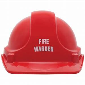 unisafe red warden safety helmet ebay With what kind of paint to use on kitchen cabinets for pre printed stickers