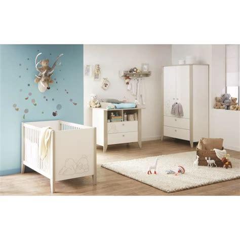 ourson chambre bébé complète lit armoire commode