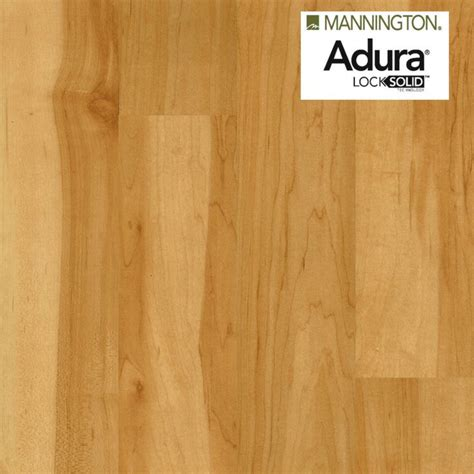 mannington flooring canada 2 09 mannington adura locksolid luxury 4 quot vinyl plank canadian maple aw501s vinyl flooring