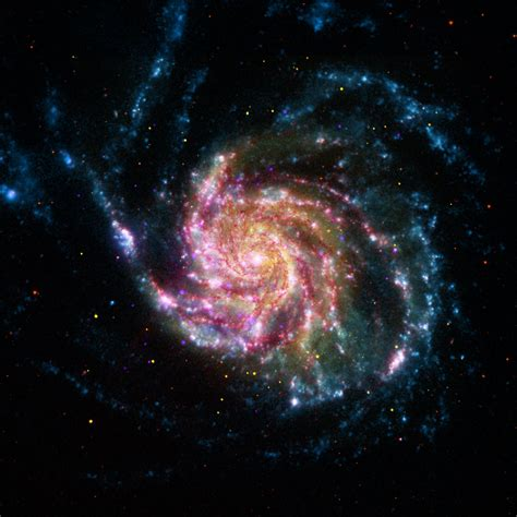 Image Of The Pinwheel Galaxy M101