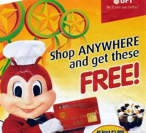 The annual fee is the membership fee you'll pay every year for the convenience of using a credit card. Mrs. G: BPI-Jollibee Promo: Yum-Yum!