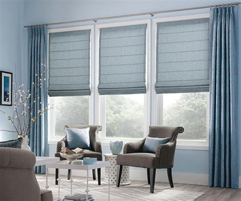 custom drapes artisan shades blues graber the artistic