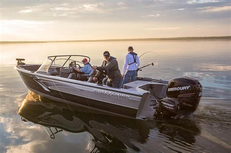 Aluminum Fishing Boat New by 2016 New Crestliner Aluminum Fish Boat Aluminum Fishing