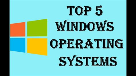 best operating system operating systems