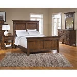 amazon com attic heirlooms rustic oak panel bedroom set