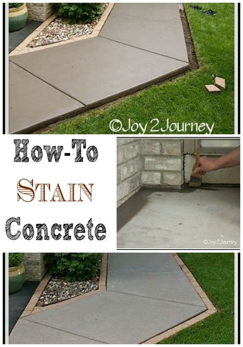how to color concrete 13 best images about exterior ideas on pinterest concrete walkway stains and a natural